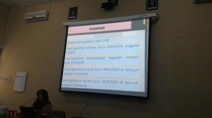 Sosialisasi guru pembelajar
